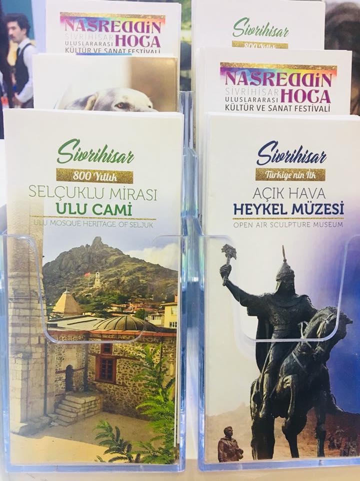 2018 emitt 4 - Sivrihisar İstanbul Emitt Fuarında