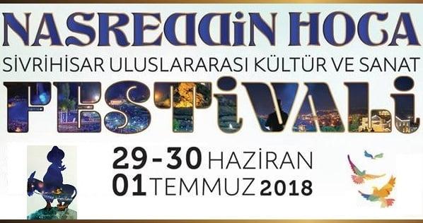 2018 uluslararasi nasreddin hoca festivali - Uluslararası Nasreddin Hoca Kültür ve Sanat Festivali