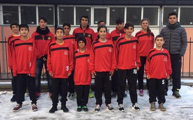 m.kaplan kros 3 - Mehmet Kaplan Ortaokulu Kros Yarışması