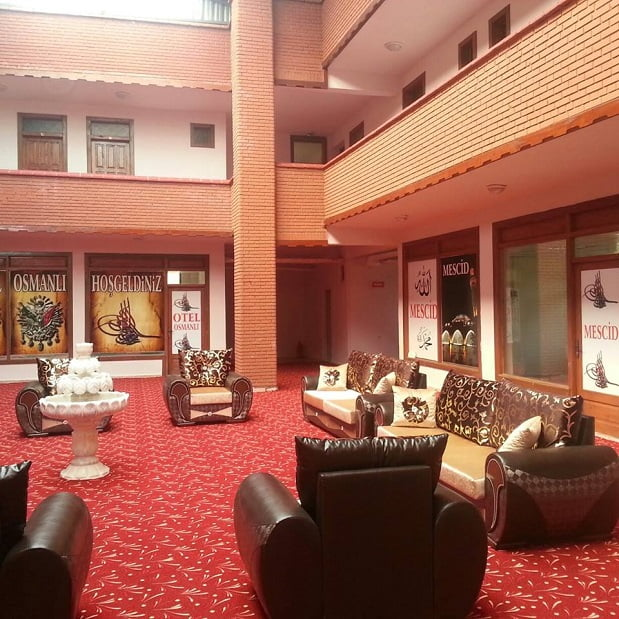 otel ici - Otel Osmanlı