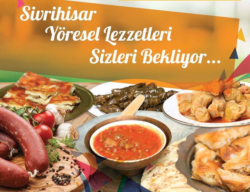 sivrihisar yoresel lezzetleri - Uluslararası Nasreddin Hoca Kültür ve Sanat Festivali