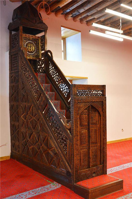 ulucami restore minber2 - Sivrihisar Grand Mosque
